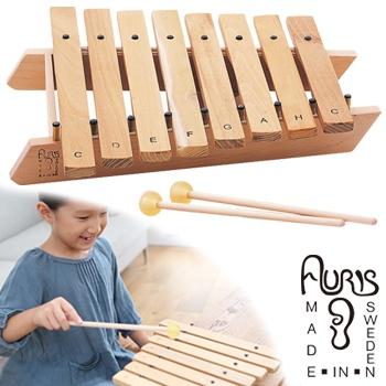 ◎アウリス シロホンダイヤトニック8音 AUXRD008[楽器 おもちゃ こども 北欧 スウェーデン 木製 シロホン プレゼント・ギフトにおすすめ 男の子 女の子]
