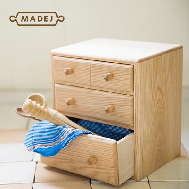 ◎MADEJ マデイ Wood 小引き出し MDJ009[木製の小物収納 職人さんが丁寧に仕上げた卓上の引き出し 小物の整理整頓に]