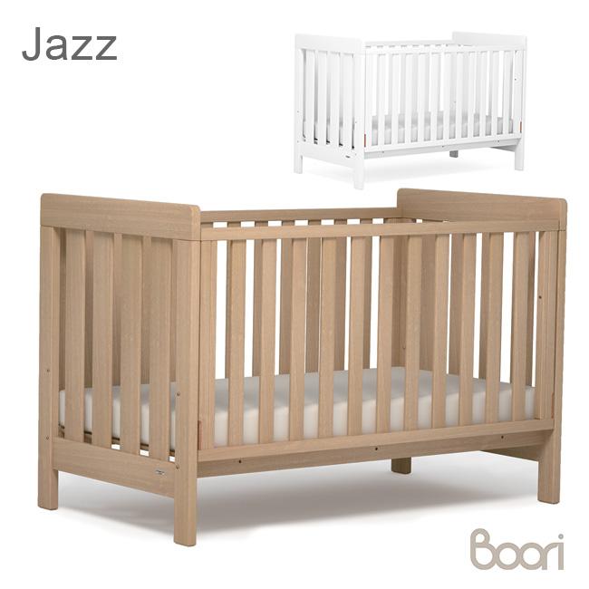 ◎Boori ブーリ ジャズ ベビー&キッズベッド U-DACBD[0歳から2歳まで使える木製のベビーベッド 2歳から6歳までの子ども用のベッド 子供が使い終わってからは大人がソファとして使える ベビー寝具 木のベビー 寝具] メーカー直送