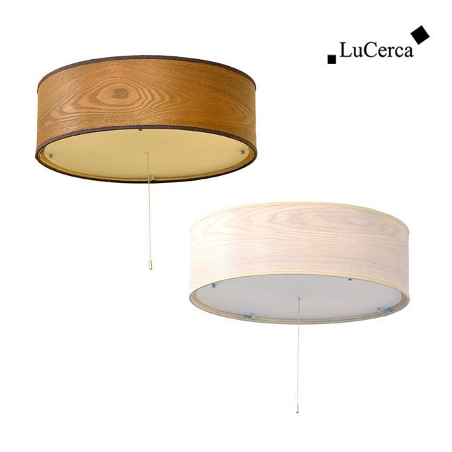 ◎ルチェルカ 4灯シーリングライト ベニーワン LuCerca Venir 1[おしゃれな4灯のシーリングライト 木製のシェードのインテリア照明 レトロでモダンな照明 ダイニングにおすすめの照明器具]