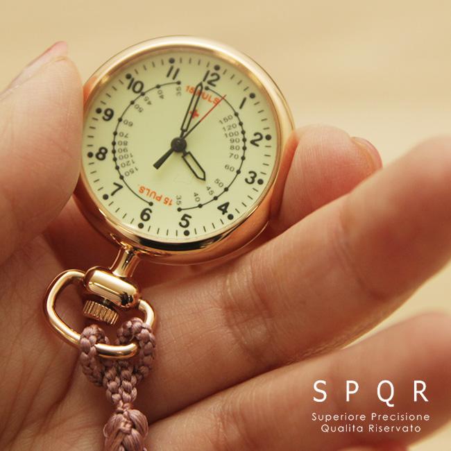 ◎SPQR スポール ナースウォッチ[日本製 看護師 時計 おすすめ かわいい 見やすい]