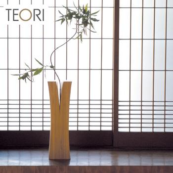 ◎TEORI LIN テオリ リン M P-LIM[竹の集成材(竹集成材)で作ったおしゃれな一輪挿しの花瓶(フラワーベース) シンプルなデザインの一輪挿は和室や玄関のインテリア 小物としておすすめ]