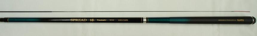 送料無料 即日発送 宇崎日新 スプレッド椿 4.5m(SPREADつばき・清流竿ハエ竿・ニッシン) NISSIN Made in Japan日本製