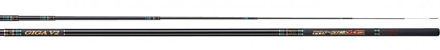 送料無料 即日発送 宇崎日新 トップギガV2 毛鈎12.0m 替穂付(TOP GIGA V2・鮎竿・毛針)NISSIN  Made in Japan日本製