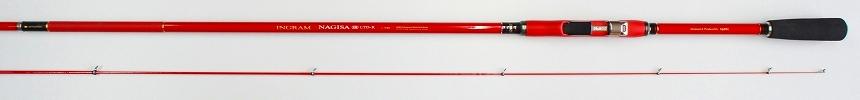 送料無料 即日発送 宇崎日新 イングラム ナギサIM 限定レッド0.6号-5.3m(INGRAM NAGISA リミテッドレッド・LTD・・磯竿・チヌ竿) NISSIN Made in Japan日本製