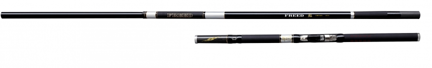 宇崎日新 FREED 鮎 中継中通し8.5m(フリードあゆ なかつぎなかとおし 鮎竿)NISSIN Made in Japan日本製P06May16