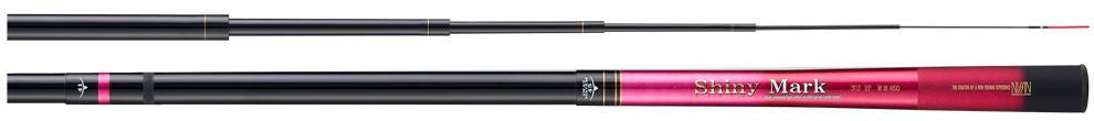 宇崎日新 渓流竿 シャイニーマーク 2WAY MP(ピンク) 硬調 5.3m 限定カラー NISSIN Made in Japan日本製