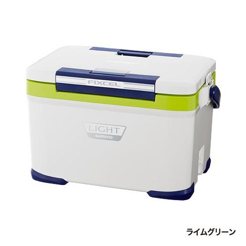 送料無料 シマノ(SHIMANO)FIXCEL(フィクセル) ライト 170 ライムグリーン LF-017N(シマノ クーラーボックス)
