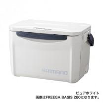 送料無料 シマノ(SHIMANO)Freega(フリーガ) ベーシス 200 ピュアホワイト UZ-020N(シマノ クーラーボックス)