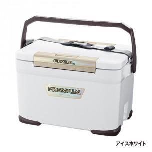 送料無料 シマノ(SHIMANO)FIXCEL(フィクセル) プレミアム 220 アイスホワイト ZF-022N(シマノ クーラーボックス)
