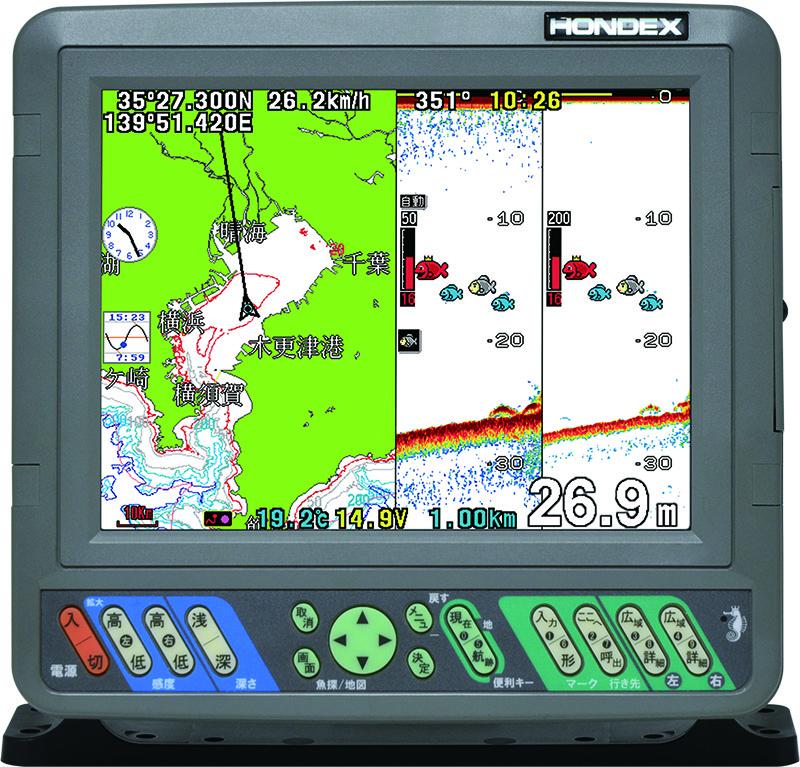 PS-800GP(s)バリューセット ★8.4型液晶プロッター魚探