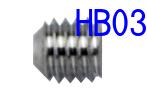 刃をとめる重要なビスです。しっかり締めつけしましょう。 HB03 超音波カッター用刃固定ビス(ZO-41・ZO-40・ZO-30・ZO-80・USW-334・USW-334ek)