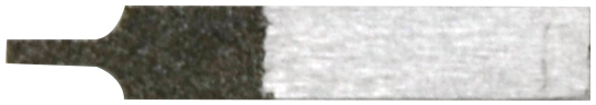 ZH34 ヤスリ板1mm(電着ダイヤ)#325相当超音波カッター用(ZO-41・ZO-80・USW-334対応)