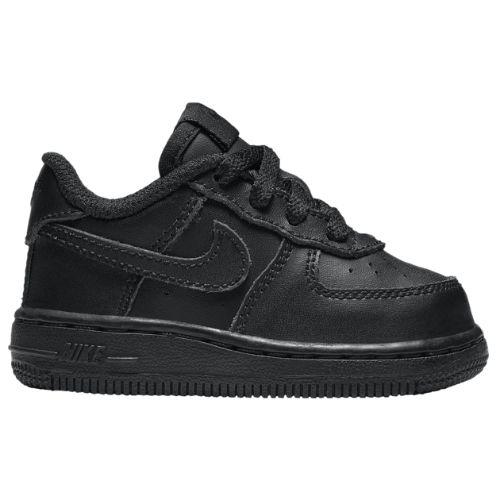 【送料無料+P3倍+クーポン】【海外限定】 nike ナイキ 【ベビー・キッズ(8.0-16.0cm)】 Nike Air Force 1 Low (Black/Black) ベビースニーカー 子供靴 ファーストシューズ 出産祝い 誕生プレゼント