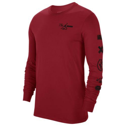 【送料無料+P3倍+クーポン】nike ナイキ 【メンズサイズ】 ジョーダン Jordan The Man長袖Tシャツ(Gym Red) ロンT カットソー トップス ストリート 【楽ギフ_包装選択】