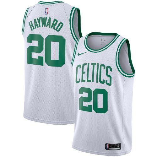 【送料無料+P3倍+クーポン】nike ナイキ 【メンズサイズ】 NBA Swingman Jersey (Boston Celtics/Gordon Hayward/White) スウィングマンジャージ ユニフォーム ゴードン・ヘイワード