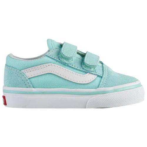 【期間限定☆送料無料】【10%年末特別割引】【海外限定】 Vans ヴァンズ バンズ (10.5-16.0cm) Vans Old Skool (Blue Tint/True White) スニーカー 子供靴