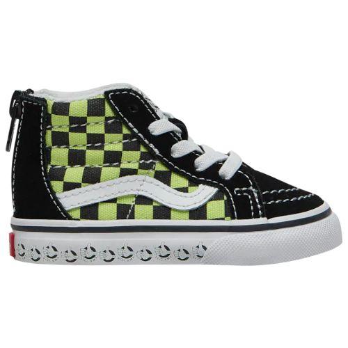 【送料無料+マラソン7%OFF】【海外限定】 Vans ヴァンズ バンズ (10.5-16.0cm) Vans SK8-Hi BMX (Black/Sharp Green) スニーカー 子供靴