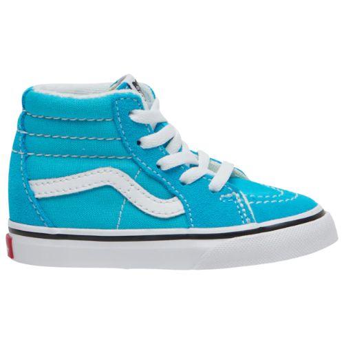 【送料無料+P3倍+クーポン】【海外限定】 Vans ヴァンズ バンズ 【ベビー・キッズ(10.5-16.0cm)】 Vans SK8-Hi (Scuba Blue/True White) スニーカー 子供靴 出産祝い