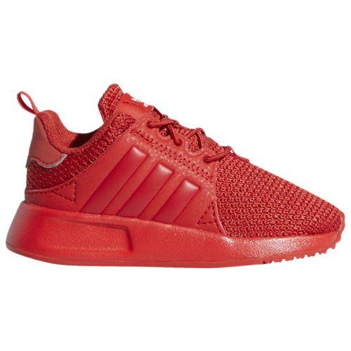 【送料無料+P3倍+クーポン】【海外限定】 アディダス オリジナルス 【ベビー・キッズ(11.0-16.5cm)】 adidas Originals X_PLR(Lush Red/White/Lush Red) スニーカー 子供靴 出産祝い
