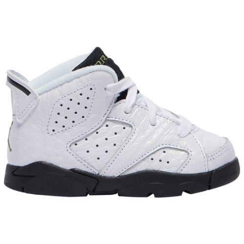 【送料無料+P3倍+クーポン】【海外限定】 nike ナイキ ジョーダン 【ベビー・キッズ(8.0-16.0cm)】 Jordan Retro 6 (White/Black/Alligator) スニーカー 子供靴 出産祝い 誕生プレゼント ギフト