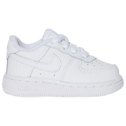 【送料無料+P3倍+クーポン】【海外限定】 nike ナイキ 【ベビー・キッズ(8.0-16.0cm)】 Nike Air Force 1 Low (White/White) スニーカー 子供靴 出産祝い エアフォースワン