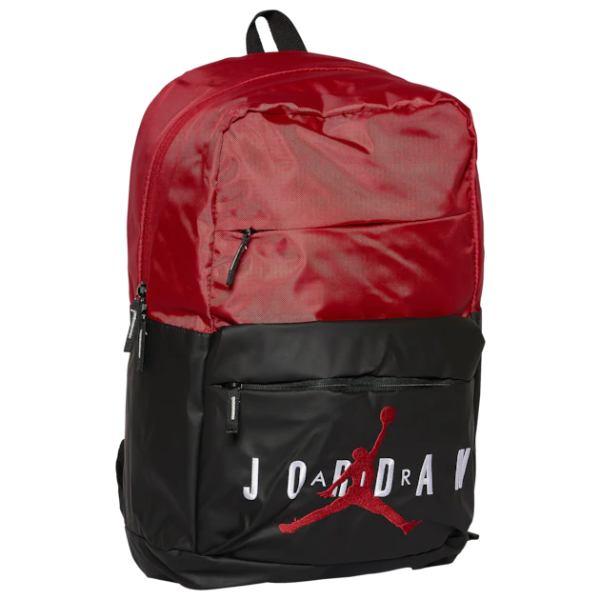 【送料無料+P3倍+クーポン】nike ナイキ 【エア・ジョーダン】 Jordan Pivot Backpack バックパック(Black/Gym Red) Backpack リュックサック バッグ 【楽ギフ_包装選択】