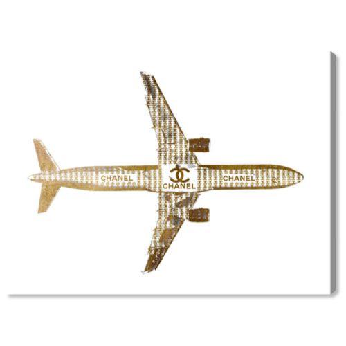 【送料無料+P3倍+クーポン】【まとめ買い割引★2枚目10%OFF】 Oliver Gal オリバーガル 約38x25cm TRENDSETTER CC AIRLINES Chanel シャネル インテリア 絵画 衣替え 引越し祝い 引っ越し祝い