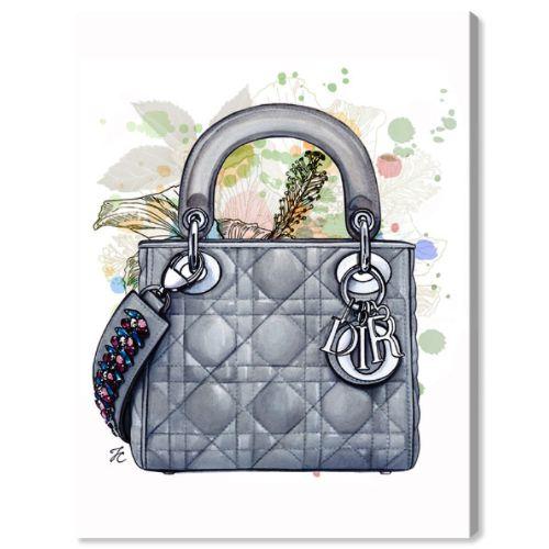 【送料無料+P3倍+クーポン】【まとめ買い割引★2枚目10%OFF】 Oliver Gal オリバーガル 約38x25cm DOLL MEMORIES - GREY SHADE Dior ディオール インテリア 絵画 衣替え 引越し祝い 引っ越し祝い