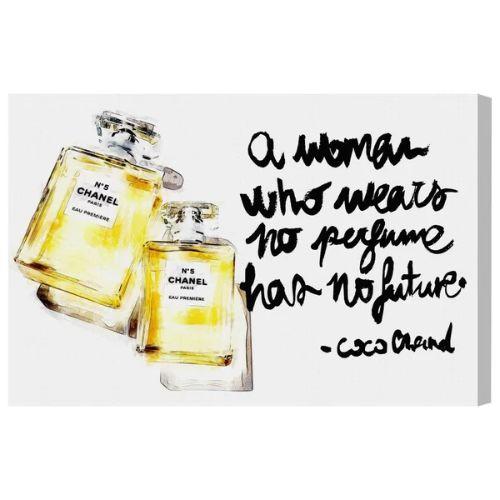 【送料無料+P3倍+クーポン】【まとめ買い割引★2枚目10%OFF】 Oliver Gal オリバーガル 約76x51cm Perfume in the Future Chanel シャネル インテリア 絵画 衣替え 引越し祝い 引っ越し祝い