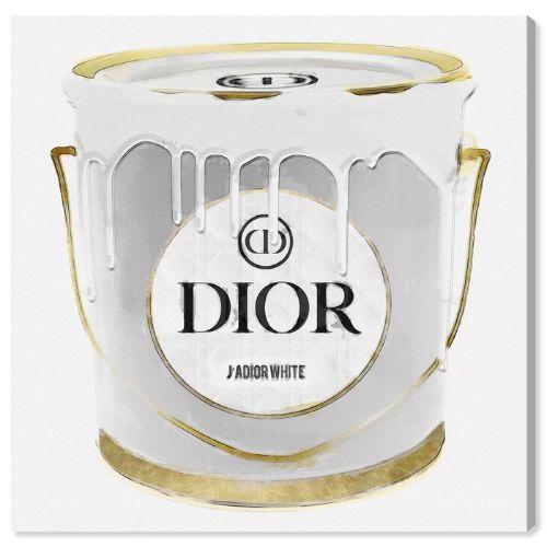 2019人気の 【送料無料+割引クーポン対象】【安心の国内発送】 Oliver Gal オリバーガル 約76x76cm All White Paint Dior ディオール キャンバスアート インテリア 衣替え 引越し祝い, Q'S ANTIQUES 6433ef1c