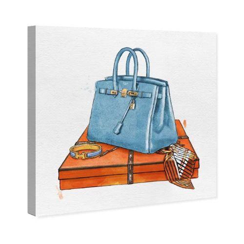 【送料無料+P3倍+クーポン】【まとめ買い割引★2枚目10%OFF】 Oliver Gal オリバーガル 約30x30cm My Bag Collection III Hermes エルメス キャンバスアート インテリア 衣替え 引越し祝い