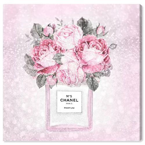 【送料無料+BFセールP5倍】【まとめ買い割引★2枚目5%+3枚目10%OFF】 Oliver Gal オリバーガル 約91x91cm Doll Memories - Paris Rose Queen シャネル Chanel インテリア 絵画 衣替え 引越し祝い