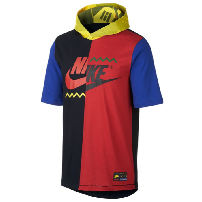 nike ナイキ 【メンズサイズ】 Nike Wildcard フード付きTシャツ(Black/Multi) トップス パーカー ストリートファッション 【ラ・クーポンで送料無料】【楽ギフ_包装選択】
