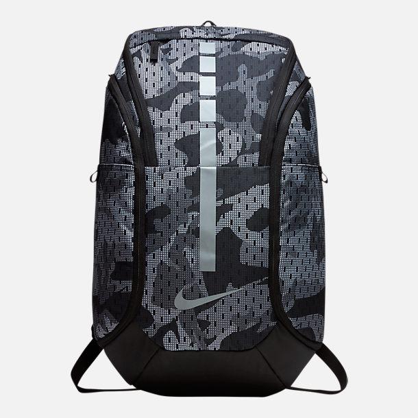 ナイキ エリート Hoops Elite Pro Backpack(Gunsmoke/Black/Metallic Cool Grey) バックパック リュックサック ストリート バッグ 【ラ・クーポンで送料無料】【楽ギフ_包装選択】