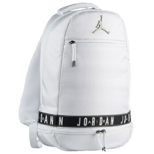 nike ナイキ 【エア・ジョーダン】 JORDAN Skyline Taping バックパック(White/Gunmetal)(約10L) Backpack リュックサック 【ラ・クーポンで送料無料】【楽ギフ_包装選択】