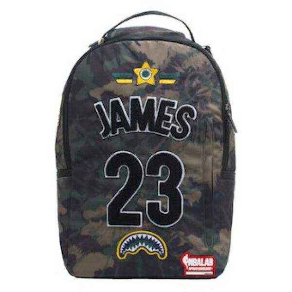 Sprayground スプレーグラウンド NBA Los Angeles Lakers Lonzo Ball レブロン・ジェームズバックパック(約20L) ロサンゼルス・レイカーズ リュック 【ラ・クーポンで送料無料】【楽ギフ_包装選択】