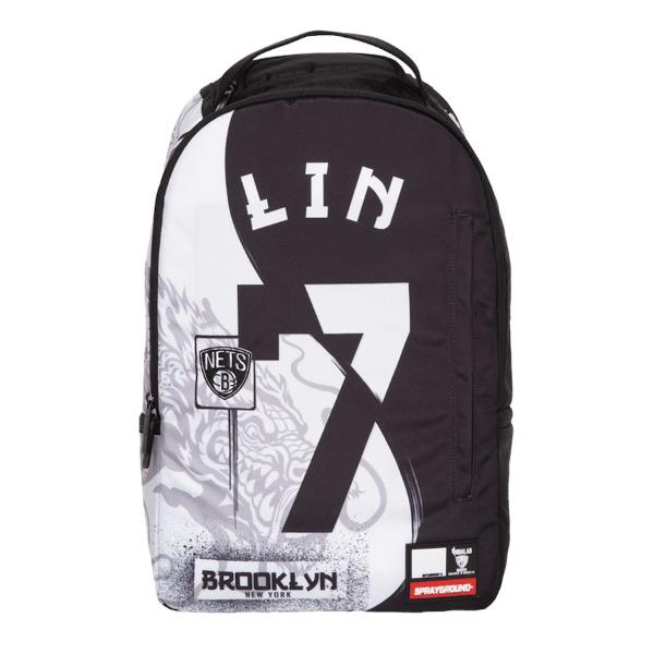 Sprayground スプレーグラウンド NBA Brooklyn Nets Jeremy Lin ジェレミー・リンバックパック(約20L) ブルックリン・ネッツ リュック 【ラ・クーポンで送料無料】【楽ギフ_包装選択】
