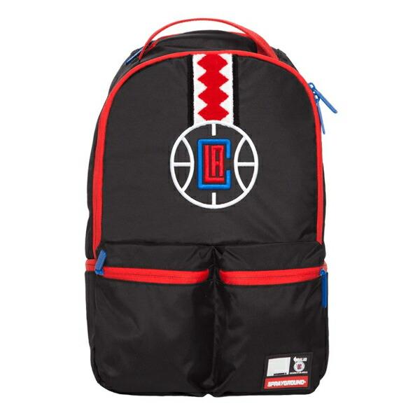 Sprayground スプレーグラウンド NBA Los Angeles Clippers バックパック(約20L) ロサンゼルス・クリッパーズ リュック 【ラ・クーポンで送料無料】【楽ギフ_包装選択】