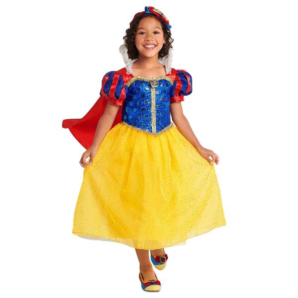 Disney ディズニー Snow White 95-155cm 女の子用白雪姫コスチュームドレス ワンピース コスプレ ハロウィン Halloween 衣装 変装 プリンセス 【ラ・クーポンで送料無料】【楽ギフ_包装選択】