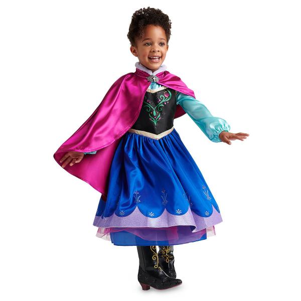 Disney ディズニー アナと雪の女王 Frozen 95-158cm 女の子用アナコスチュームドレス ワンピース コスプレ ハロウィン Halloween 衣装 変装 プリンセス 【ラ・クーポンで送料無料】【楽ギフ_包装選択】