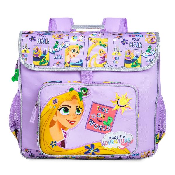 【期間限定☆送料無料】Disney ディズニー Tangled 塔の上のラプンツェル 紫ラプンツェルお出かけ用リュックサック バックパック カバン 鞄 デイバッグ 旅行