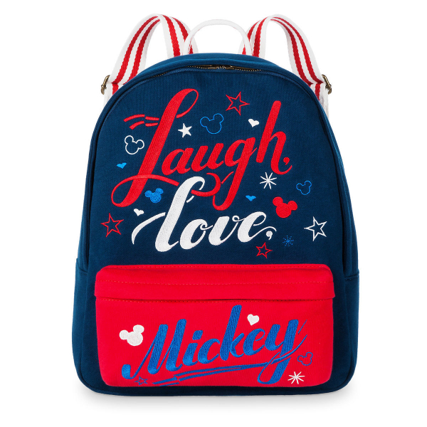 Disney ディズニー Mickey Mouse ミッキーマウスLaugh Loveお出かけ用リュックサック バックパック カバン 鞄 デイバッグ 旅行 【ラクーポンで送料無料】