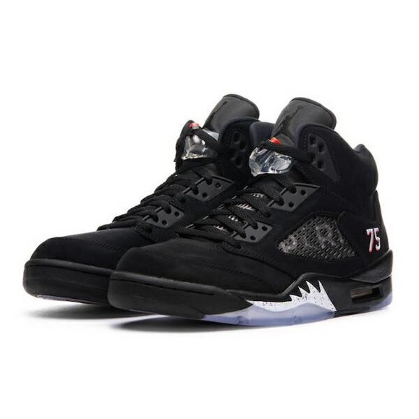 【送料無料+P3倍+クーポン】【メンズ(24.0-32.0cm)】 Jordan 5 Retro Paris Saint-Germain(BLACK/CHALLENGE RED-WHITE) ジョーダン 靴 シューズ ストリート 【楽ギフ_包装選択】