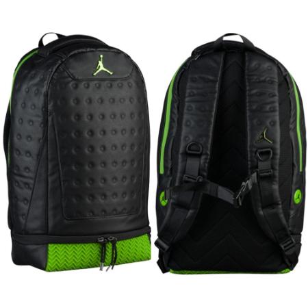 nike ナイキ 【エア・ジョーダン】 JORDAN RETRO 13 バックパック(Black/Metallic Altitude Green) Jordan Retro 13 Backpack レトロ 13リュックサック Air Jordan ストリート バッグ 【ラ・クーポンで送料無料】【楽ギフ_包装選択】