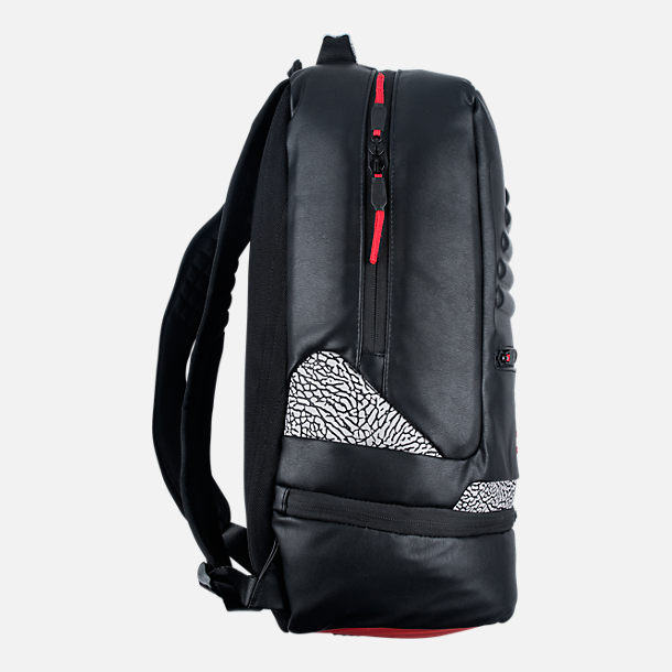 new arrival 490f7 5fc52 ... nikeナイキ エア・ジョーダン AIRJORDANRETRO3BACKPACK(Black)バックパックレトロ3リュック   Authentic Nike Air Jordan ...