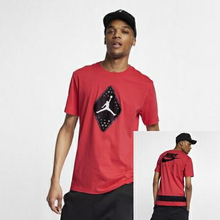nike Nike Jordan Jordan Retro 6 T shirt (Ember Glow) tops short sleeves street