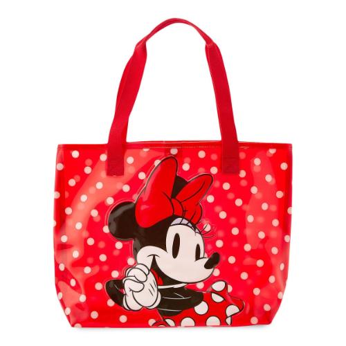 【期間限定★送料無料】Disney ディズニー Minnie Mouse 女の子用赤水玉模様ミニーマウスビーチバッグ スイムバッグ プールバッグ 水着入れ カバン 鞄 デイバッグ 旅行 【楽ギフ_包装選択】