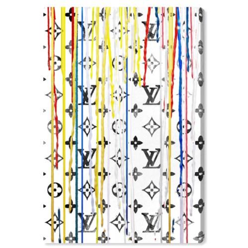 【送料無料+割引クーポン対象】【安心の国内発送】 Oliver Gal オリバーガル 約61x41cm POP ART DRIP OF LUXURY ルイ・ヴィトン Louis Vuitton インテリア 絵画 衣替え 引越し祝い 引っ越し祝い