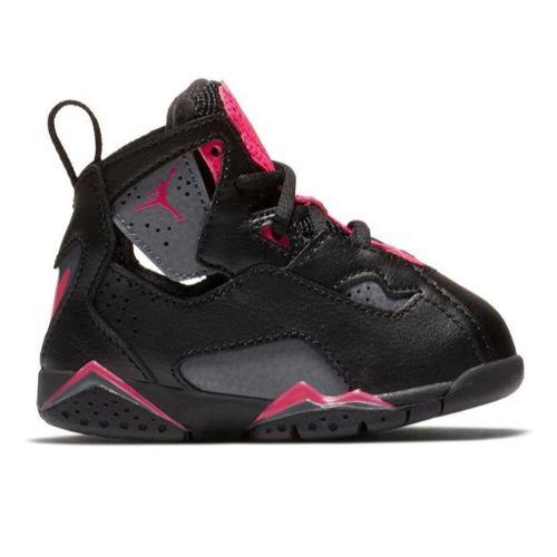【送料無料+P3倍+クーポン】【海外限定】 nike ナイキ ジョーダン 【ベビー・キッズ(8.0-16.0cm)】 Jordan True Flight (Black/Pink)スニーカー 子供靴 出産祝い 誕生プレゼント ギフト